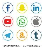 kiev  ukraine   january 08 ...   Shutterstock . vector #1074853517