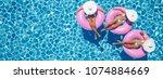3d Rendering. Women Swimming O...