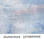 abstract art background. oil on ... | Shutterstock . vector #1074895949