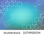 modern futuristic background of ... | Shutterstock .eps vector #1074900554
