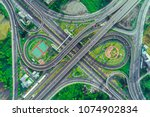 top view  aerial photos ... | Shutterstock . vector #1074902834