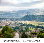 stirling cityscape with the... | Shutterstock . vector #1074906965