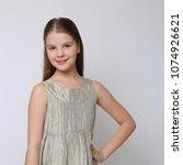 beautiful studio portrait of... | Shutterstock . vector #1074926621