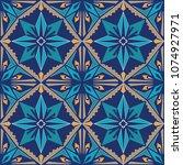 vector seamless texture.... | Shutterstock .eps vector #1074927971
