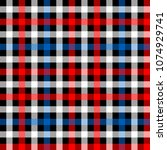 colorful tartan plaid fabric on ...   Shutterstock .eps vector #1074929741