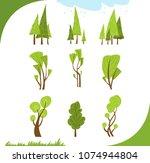 illustration of different... | Shutterstock .eps vector #1074944804