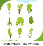 illustration of different... | Shutterstock .eps vector #1074944807