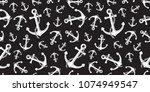 anchor seamless pattern helm... | Shutterstock .eps vector #1074949547