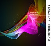abstract modern techno design... | Shutterstock .eps vector #107495051