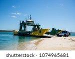 fraser island australia   feb... | Shutterstock . vector #1074965681