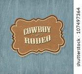 Retro Western Classic Label....