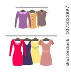 female stylish casual tops and...
