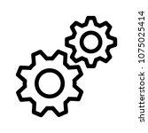setting fix repair  | Shutterstock .eps vector #1075025414