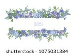 horizontal background or banner ... | Shutterstock .eps vector #1075031384
