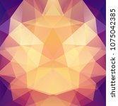 background of yellow  orange ... | Shutterstock .eps vector #1075042385