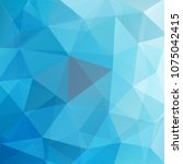 geometric pattern  polygon... | Shutterstock .eps vector #1075042415