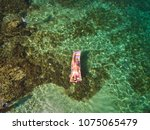 aerial view  of a beautiful...   Shutterstock . vector #1075065479