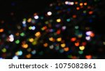 bokeh lights for party  holiday ... | Shutterstock . vector #1075082861