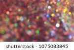 bokeh lights for party  holiday ... | Shutterstock . vector #1075083845