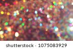 bokeh lights for party  holiday ... | Shutterstock . vector #1075083929