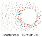 abstract background for... | Shutterstock .eps vector #1075084241