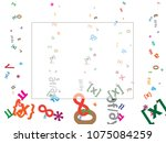 abstract background for... | Shutterstock .eps vector #1075084259
