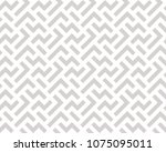 abstract geometric pattern with ... | Shutterstock .eps vector #1075095011
