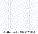 the geometric pattern with... | Shutterstock .eps vector #1075095044