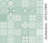 patchwork seamless pattern ...   Shutterstock .eps vector #1075117895