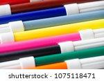 Close Up Colors Pens. Pink...
