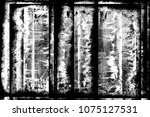 grunge black and white abstract ... | Shutterstock . vector #1075127531