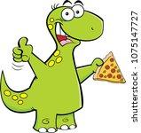 cartoon illustration of a... | Shutterstock .eps vector #1075147727
