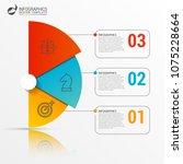 infographic design template.... | Shutterstock .eps vector #1075228664