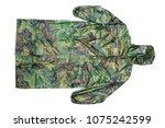 raincoat raincoat isolated on...   Shutterstock . vector #1075242599
