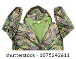 raincoat raincoat isolated on...   Shutterstock . vector #1075242611