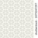 seamless geometric line pattern ... | Shutterstock .eps vector #1075247297
