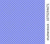 Vector Seamless Pattern. Blue...