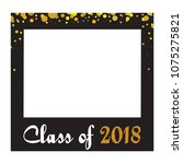 graduation party vector design... | Shutterstock .eps vector #1075275821