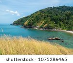 beautiful bay on the island | Shutterstock . vector #1075286465