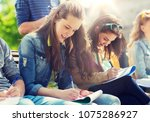 education  high school and... | Shutterstock . vector #1075286927