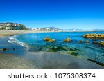 playa de la duquesa or playa... | Shutterstock . vector #1075308374