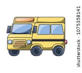 school bus icon   Shutterstock .eps vector #1075358141