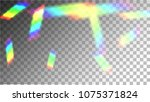 iridescent background.... | Shutterstock .eps vector #1075371824