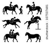 horse riding training jockey...