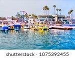 newport beach  ca  usa   mar 29 ... | Shutterstock . vector #1075392455