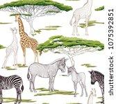 seamless pattern  background ...   Shutterstock .eps vector #1075392851