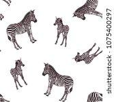 seamless pattern  background ... | Shutterstock .eps vector #1075400297