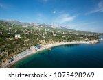 simeiz  view from a rock diva... | Shutterstock . vector #1075428269