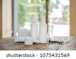 spa composition. set of... | Shutterstock . vector #1075431569