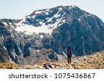 winter is gone  apuan alps ...   Shutterstock . vector #1075436867
